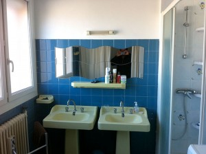 Bathroom in a shared apartment in Montpellier