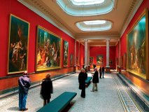 An exhibition at the renowned Musee Fabre near Place de la Comedie in Montpellier