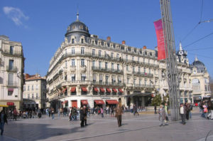 Another view of the Place de la Comédie