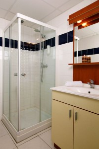 Modern bathroom in an apart-hotel Montpellier