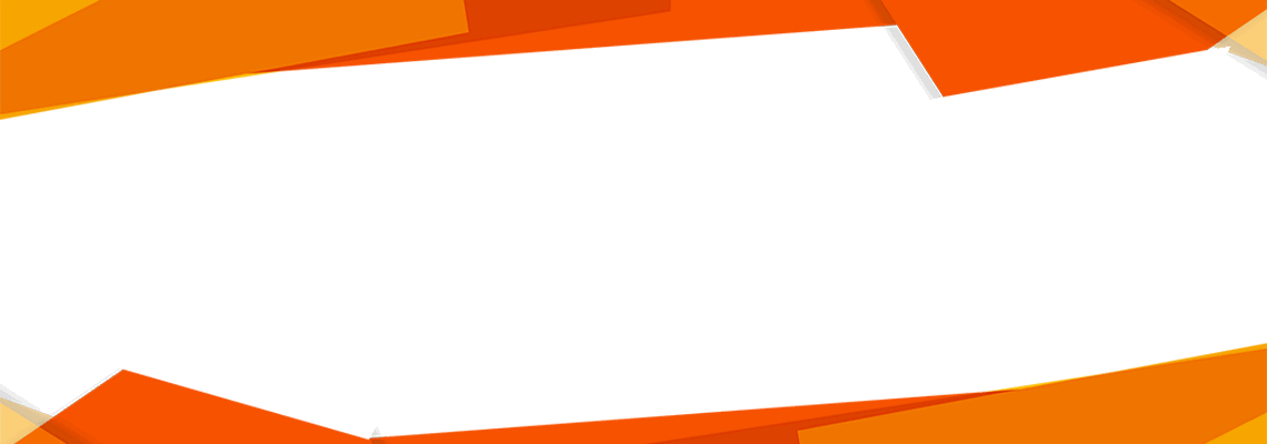 geometric background images in orange and white