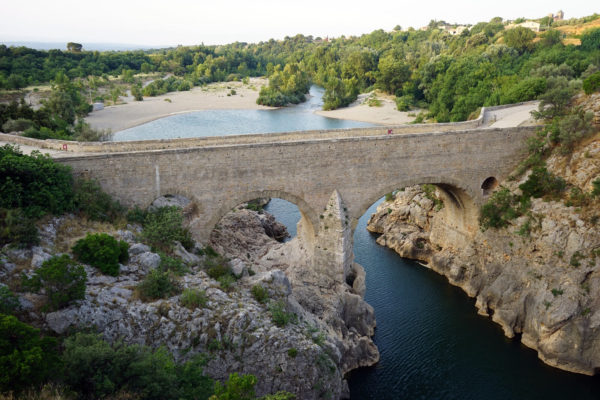 "Devil's Bridge ""Pont du Diable"", France"