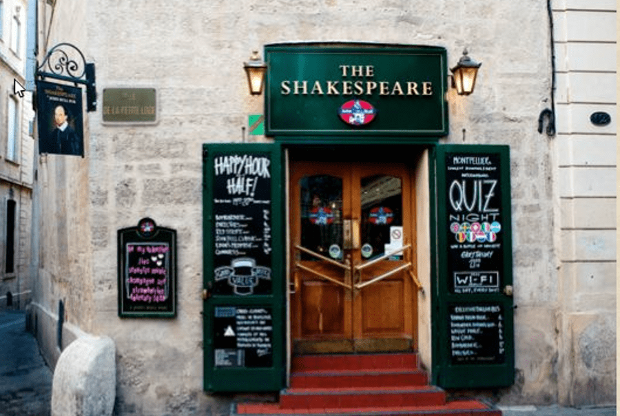 Pub The Shakespeare en Montpellier