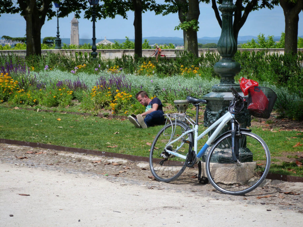 IEF Bicycle, Header