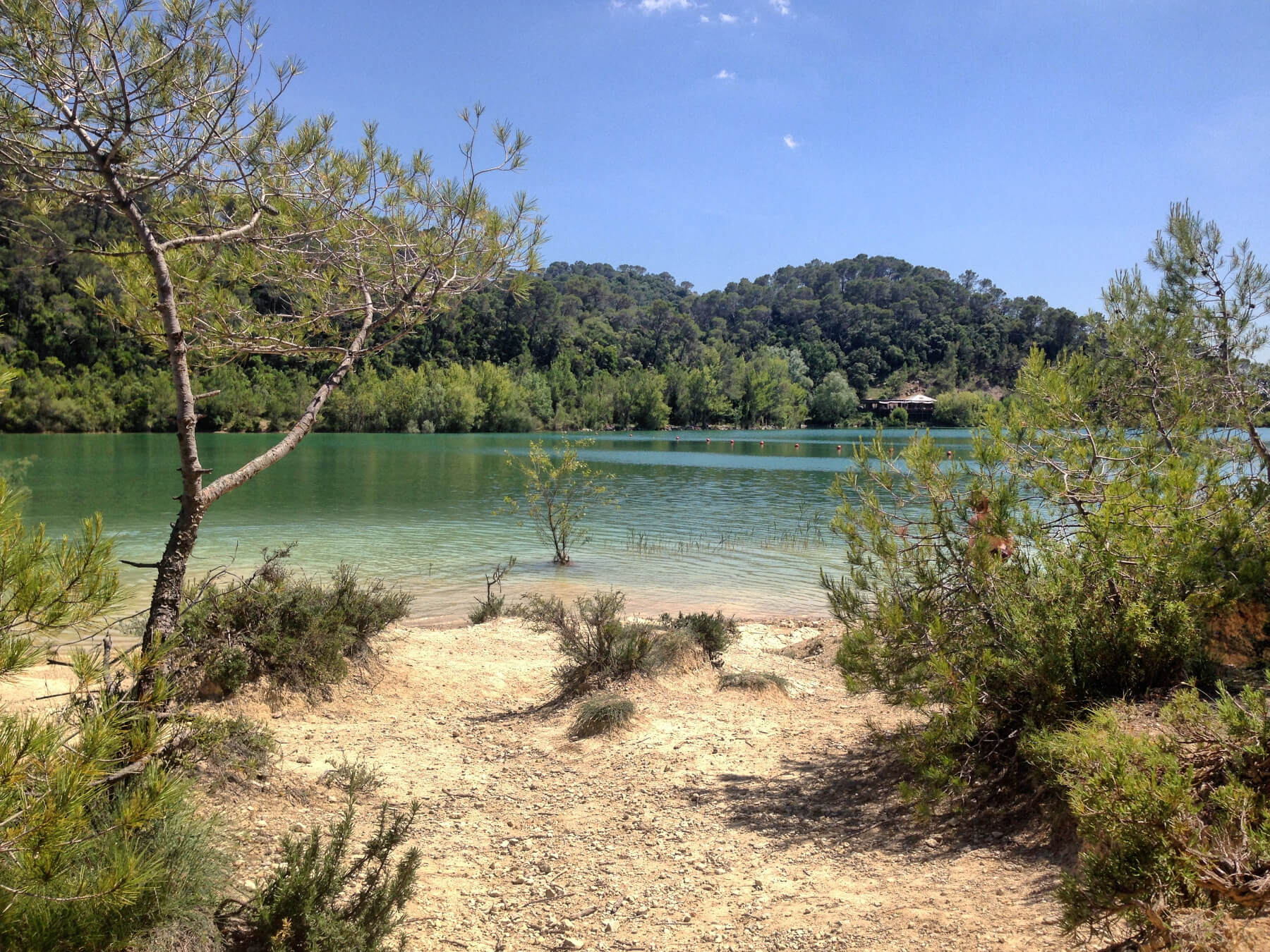Lac de Cécélès, France