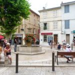 Sabbatical year in France, town square
