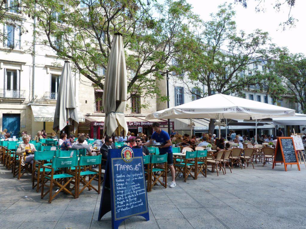 Montpellier terrace