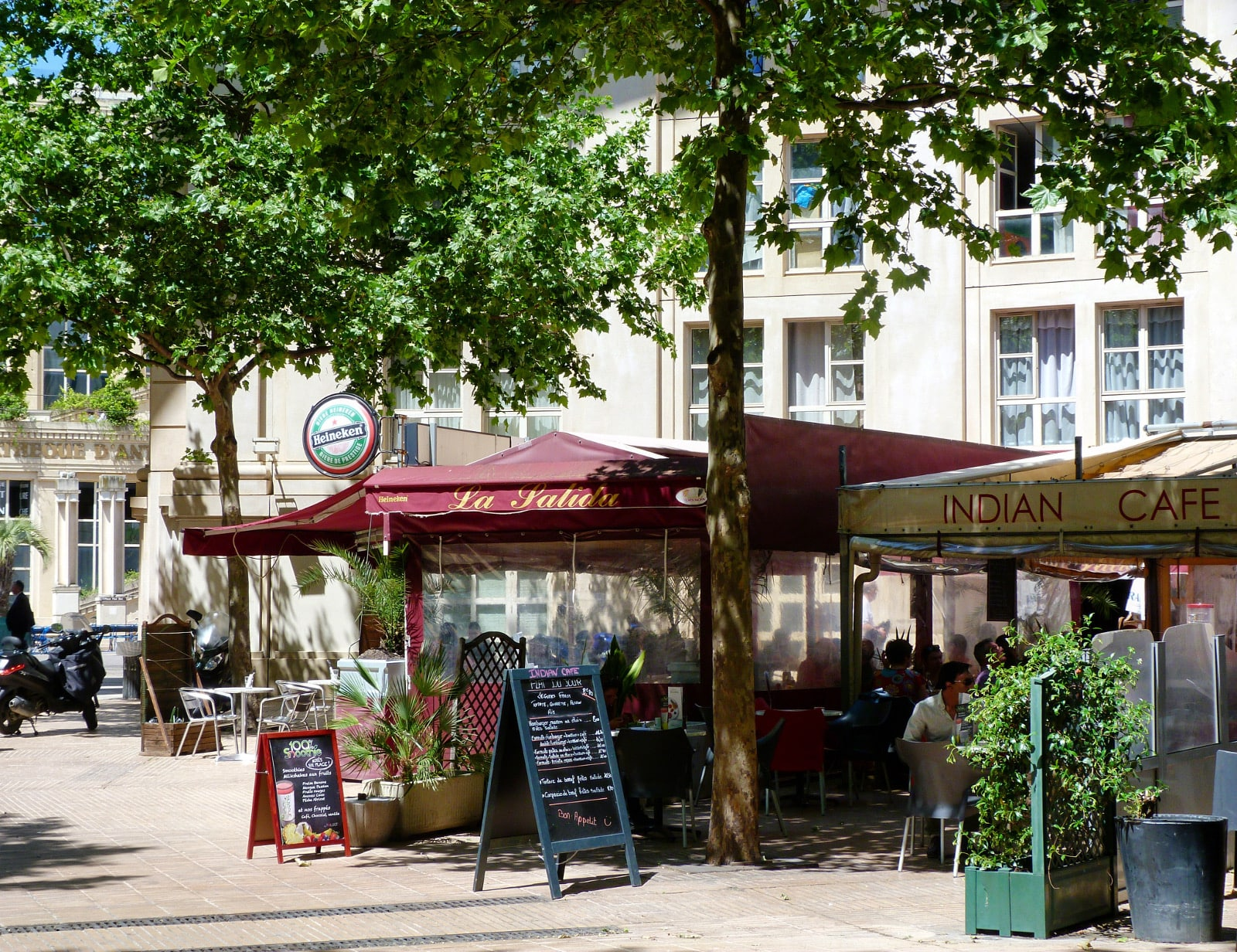 Restaurants Montpellier IEF