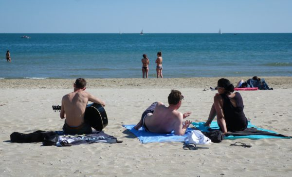 learn french during summer in Montpellier