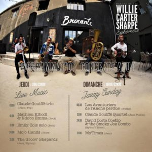 Concerts au Willie Carter Sharpe