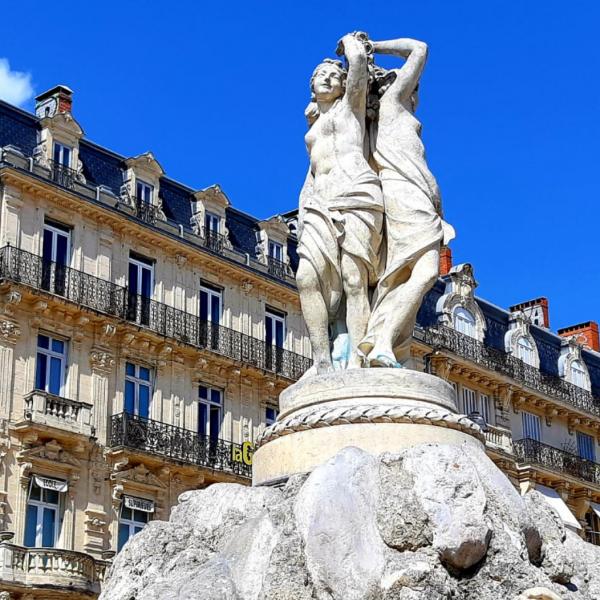 Les Trois Grâces, Montpellier